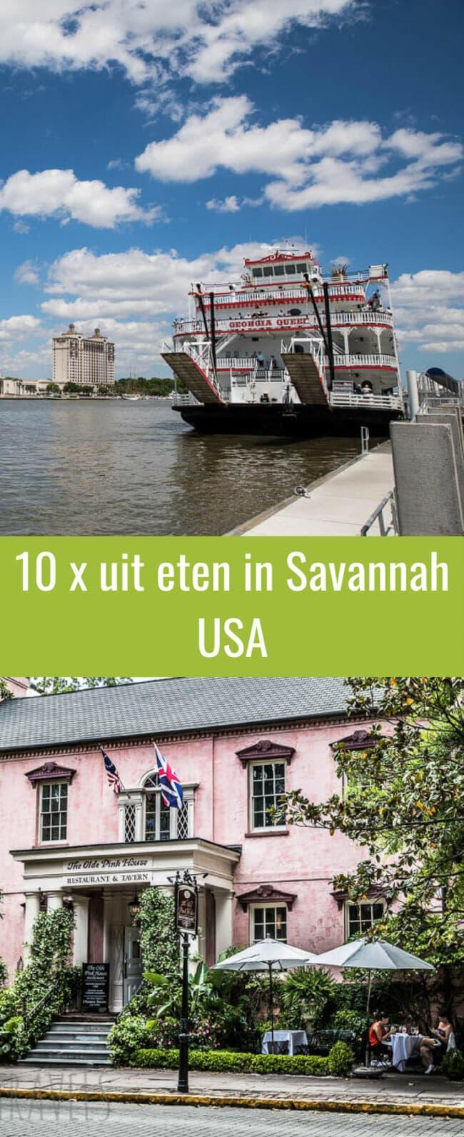 Tien keer uit eten in southern belle savanah