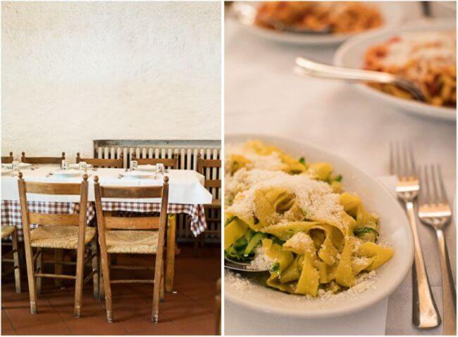 Lekker uit eten in Perugia