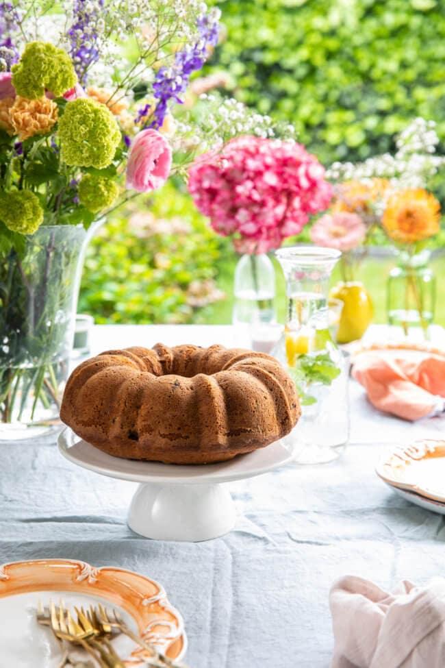 Rabarber taart