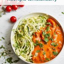 Heerlijke tomatencurry