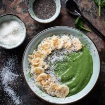 Supergroene smoothiebowl