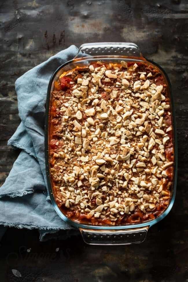Paleo aubergine lasagna | simoneskitchen