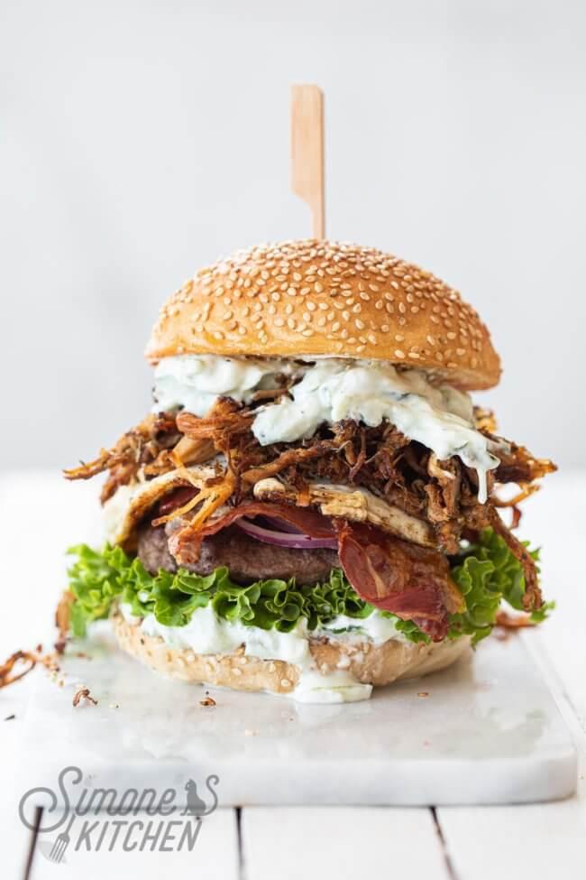 De ultieme gyrosburger | simoneskitchen.nl
