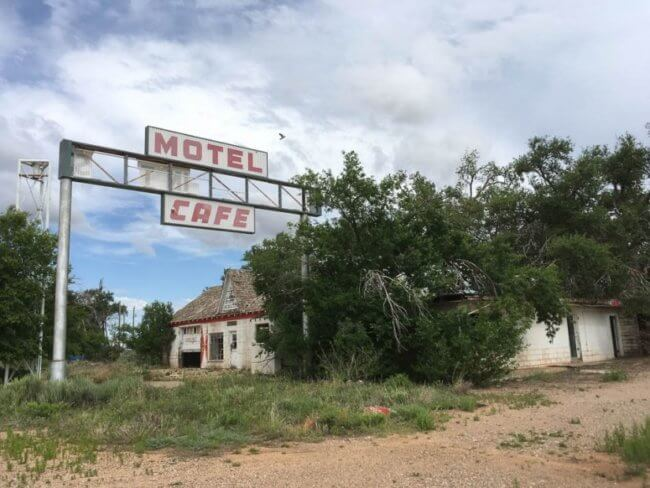 Glenrio ghost town | route 66