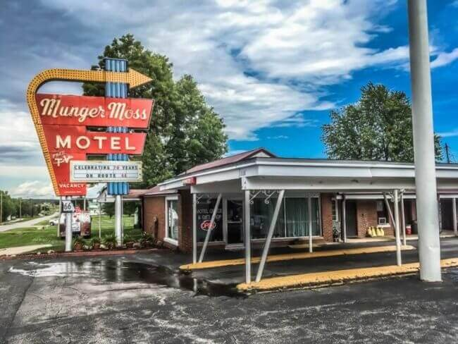 Munger Moss motel - Route 66