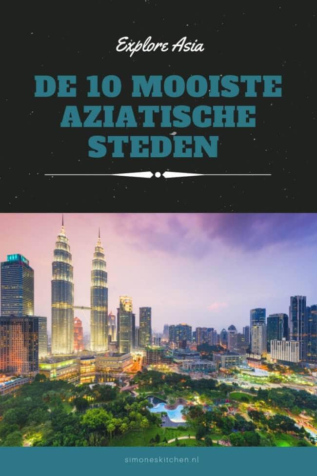 De 10 mooiste steden in azie