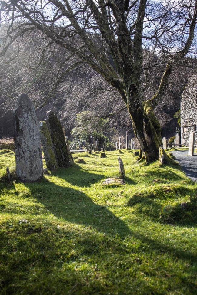 Glendalough Ierland county wicklow
