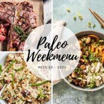Paleo weekmenu week 23