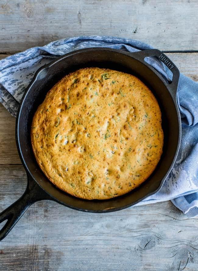 Snel pittig brood uit de koekenpan
