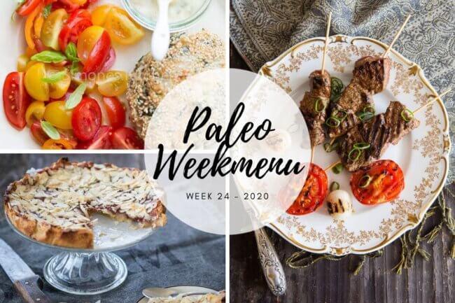 Paleo weekmenu week 24