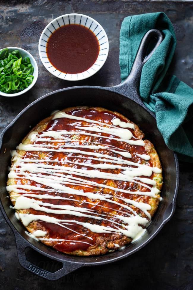 Okonomiyaki saus erover doen