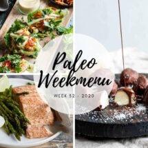 Paleo weekmenu voor week 32