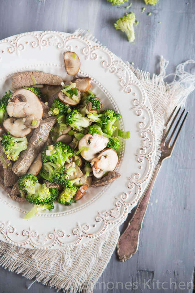 Biefreepjes met broccoli