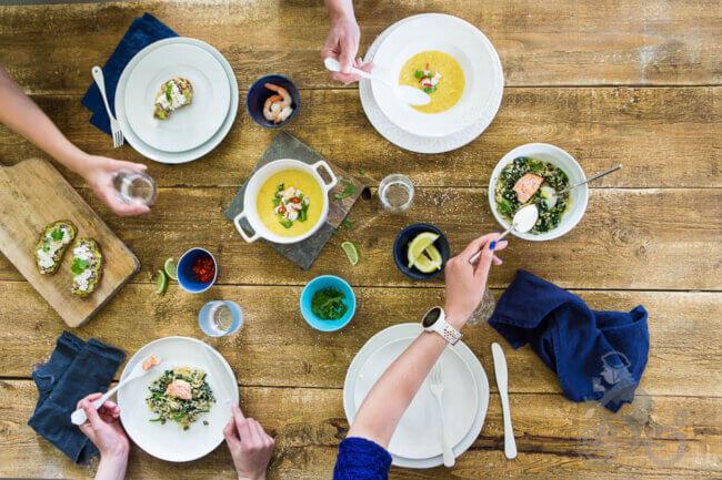 Eten met vrienden Uitdagingen tijdens je whole30