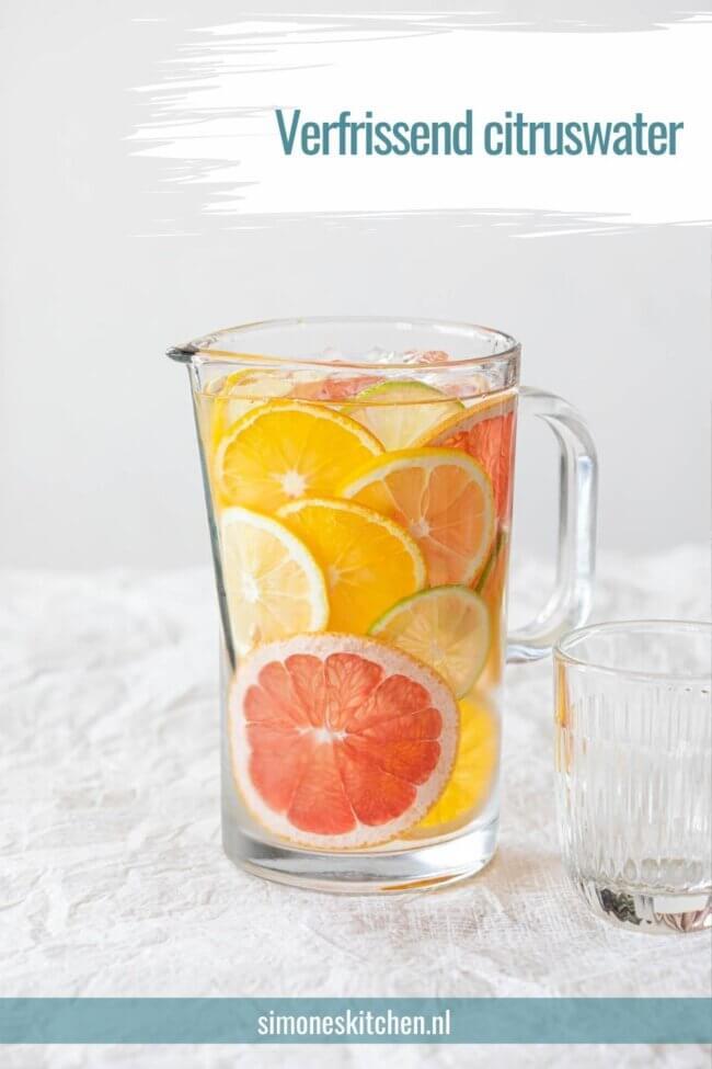 Heerlijk citruswater