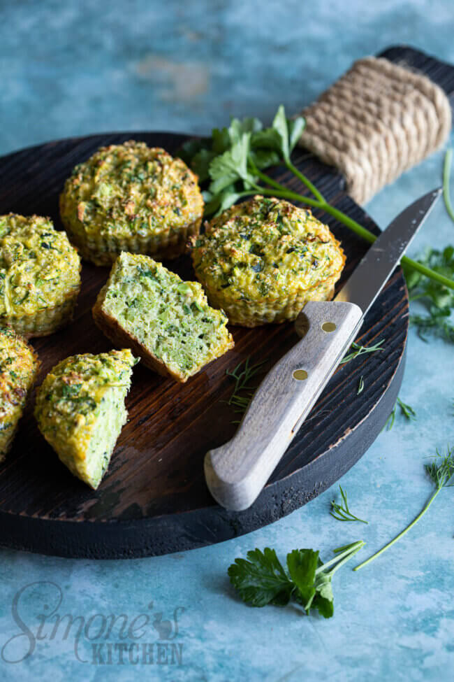 Groene power muffins