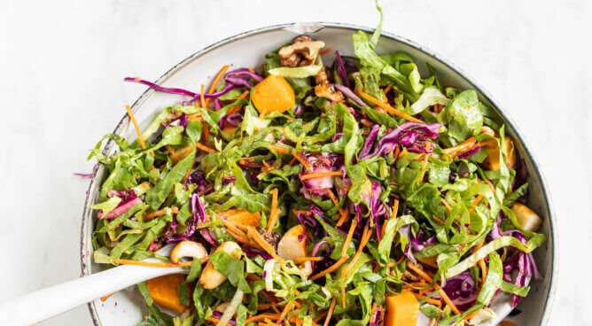 Kleurige salade