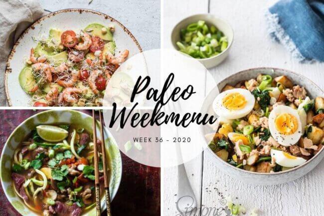 paleo weekmenu week 36 2020