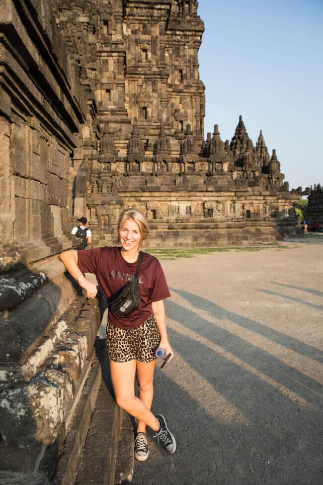 Prambanan tempel in Java
