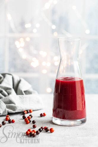 zelf cranberrysaus maken