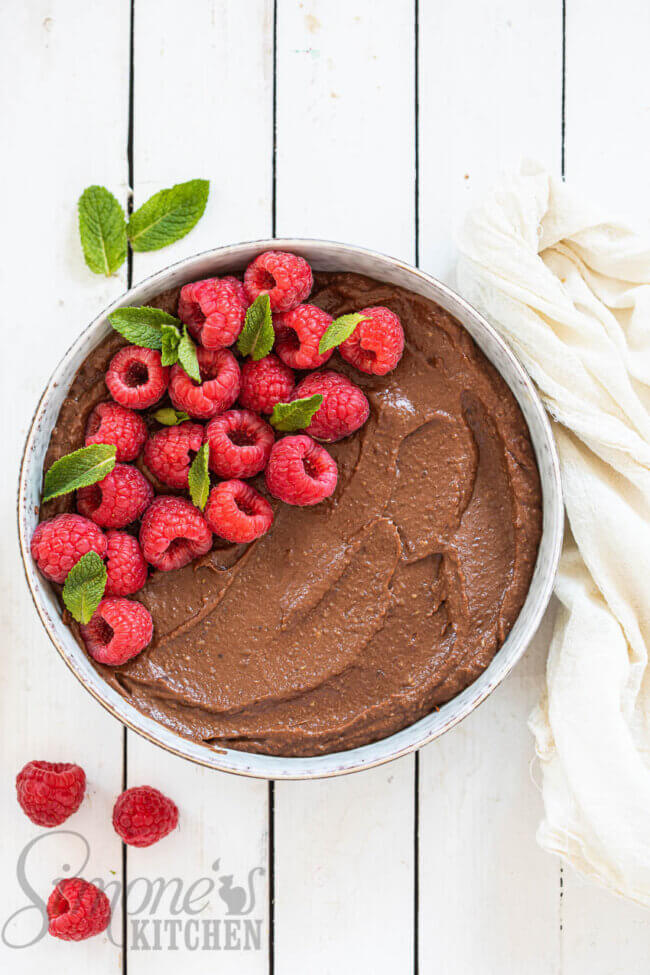 Dadel chocolademousse