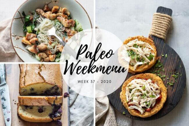 Paleo weekmenu week 37