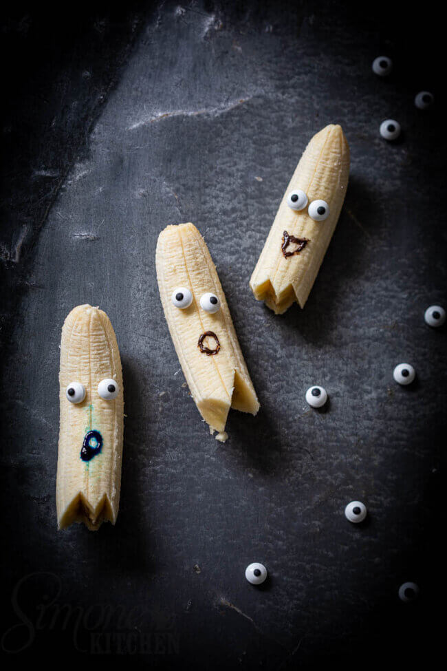 Halloween bananen