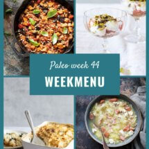 paleo weekmenu week 44