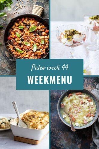 paleo weekmenu week 44
