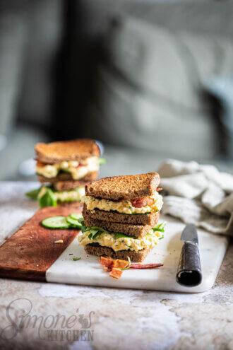 Sandwiches eiersalade