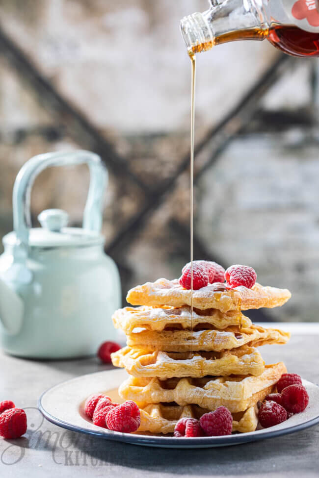 wafels van croissantdeeg