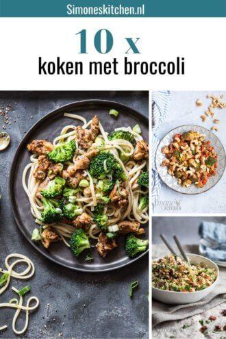 10 x koken met broccoli