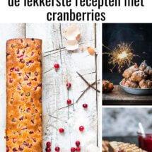 de lekkerste recepten met cranberries