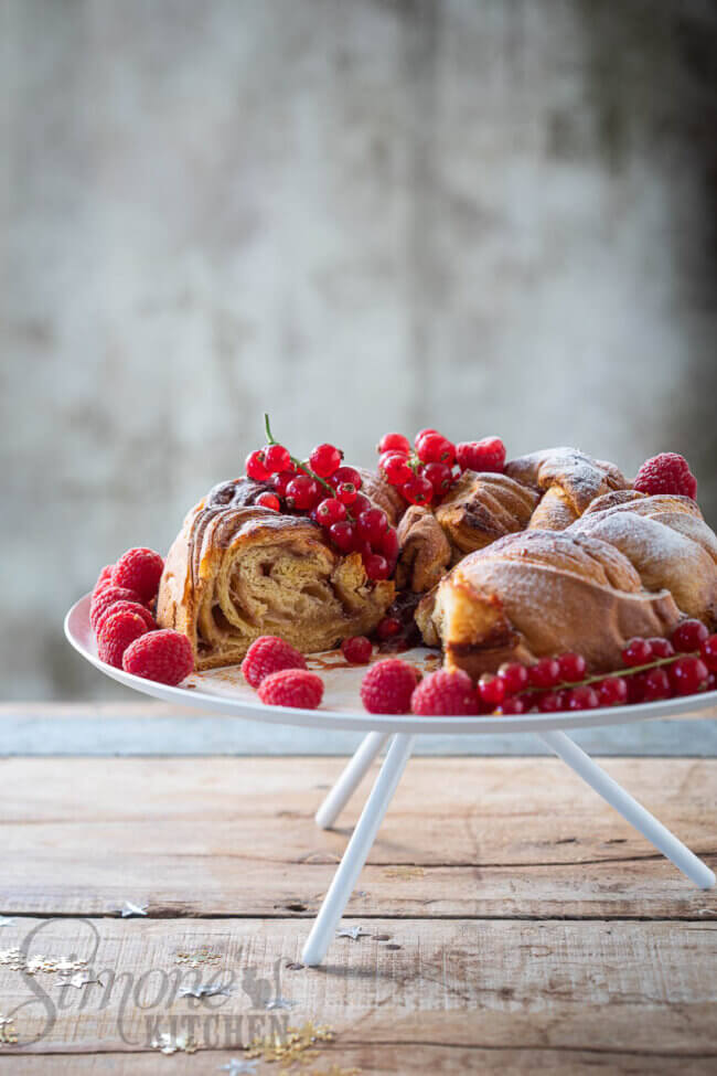 Croissantdeeg krans