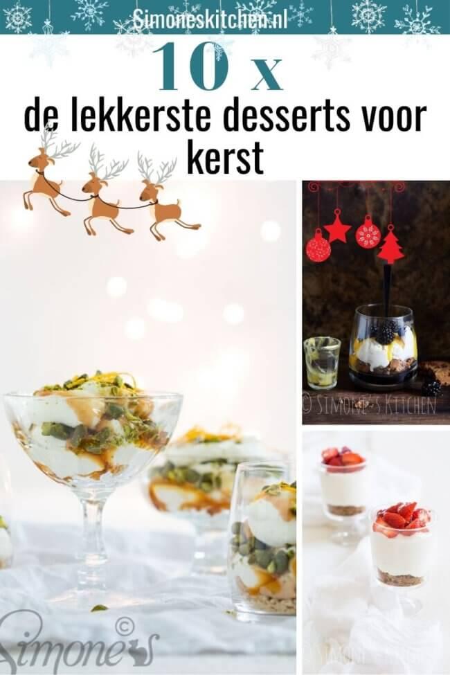 lekkerste desserts voor kerst