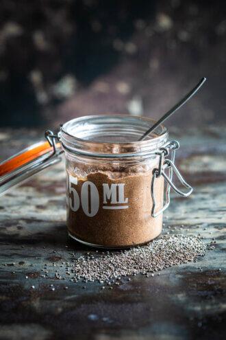 chia chocoladepudding