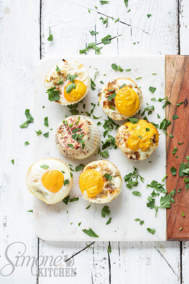 Koolhydraatarme muffins, eiermuffins