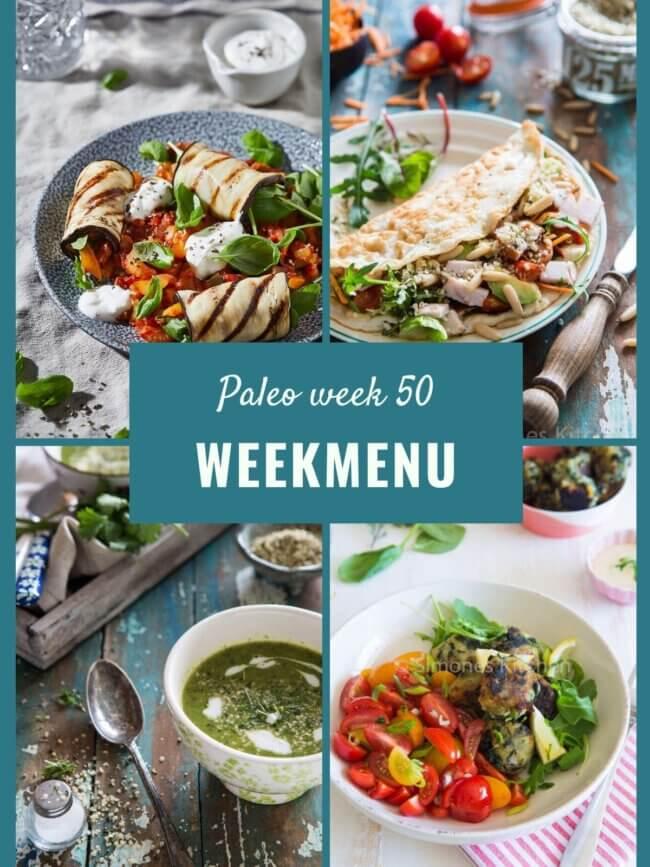 paleo weekmenu week 50