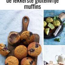10 x glutenvrije muffins