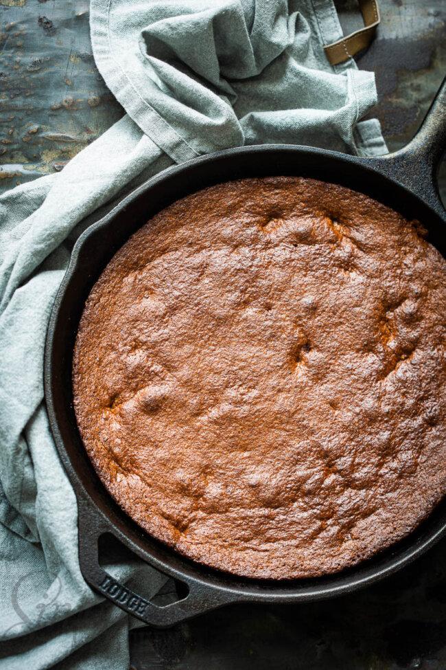 Brownie uit de koekenpan