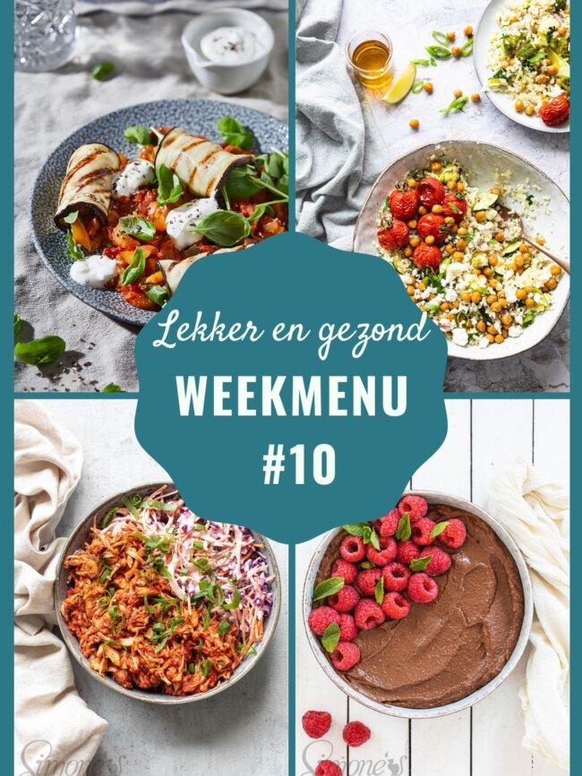 Week zonder vlees weekmenu