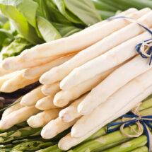 bereiden witte asperges