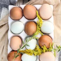 Hoe pel je een gekookt ei