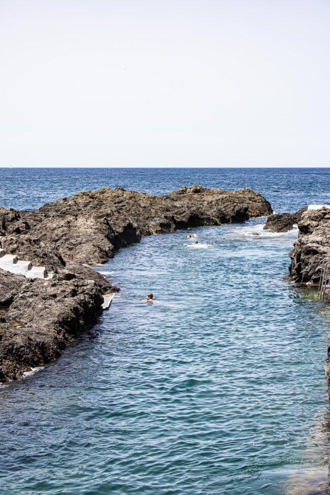 Natuurlijke baden garachico