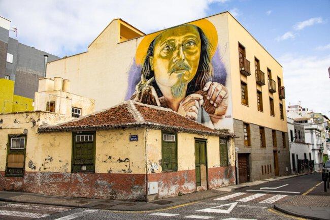 Streetart in Puerto de la cruz
