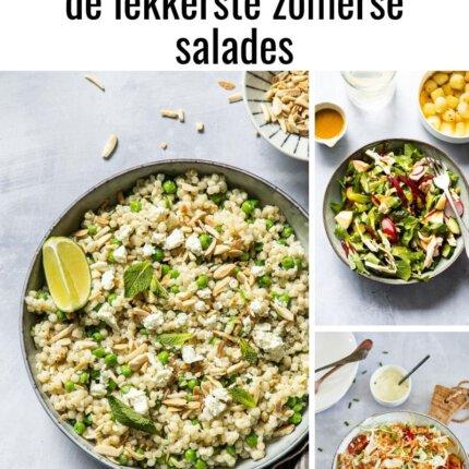 de lekkerste zomerse salades
