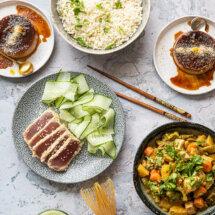 Aziatisch menu