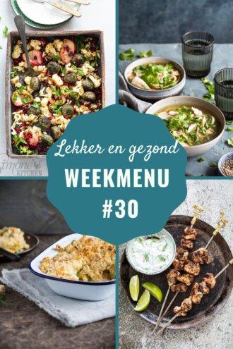 weekmenu voor week 30