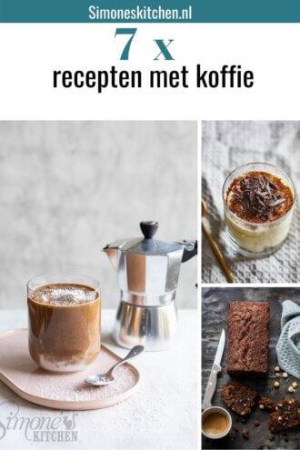 7 x recepten met koffie