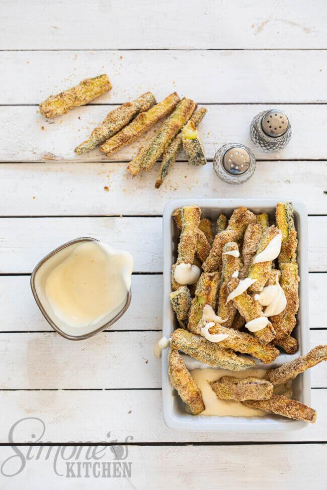 courgette frietjes